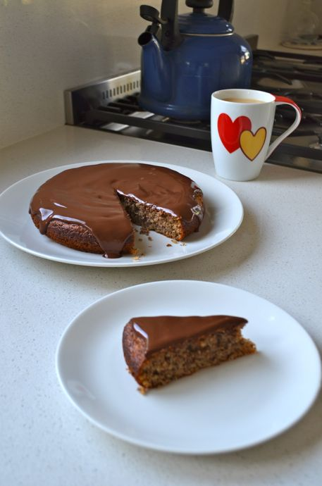 Hazelnut Cake and Tea